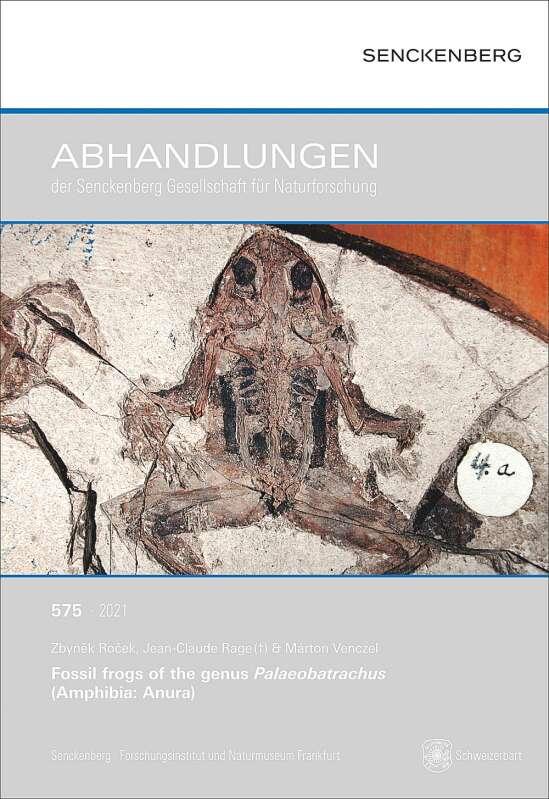 Fossil frogs of the genus Palaeobatrachus (Amphibia: Anura)