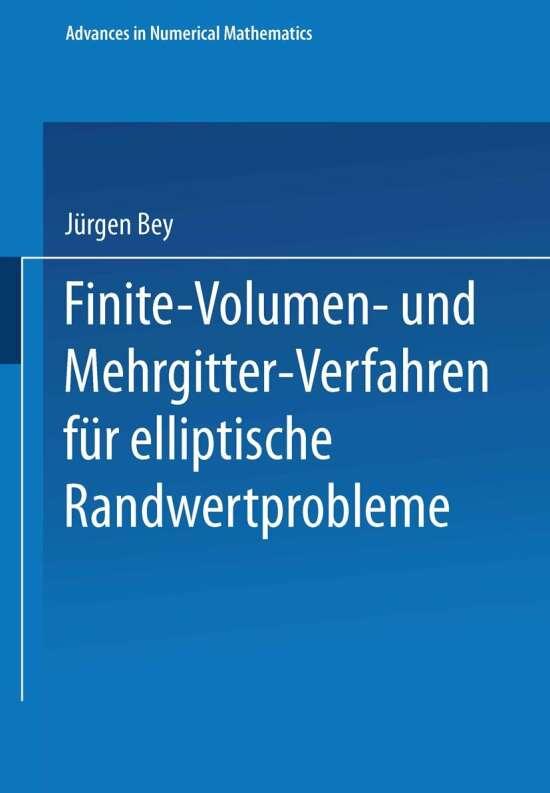 Finite-Volumen- und Mehrgitter-Verfahren für elliptische Randwertprobleme