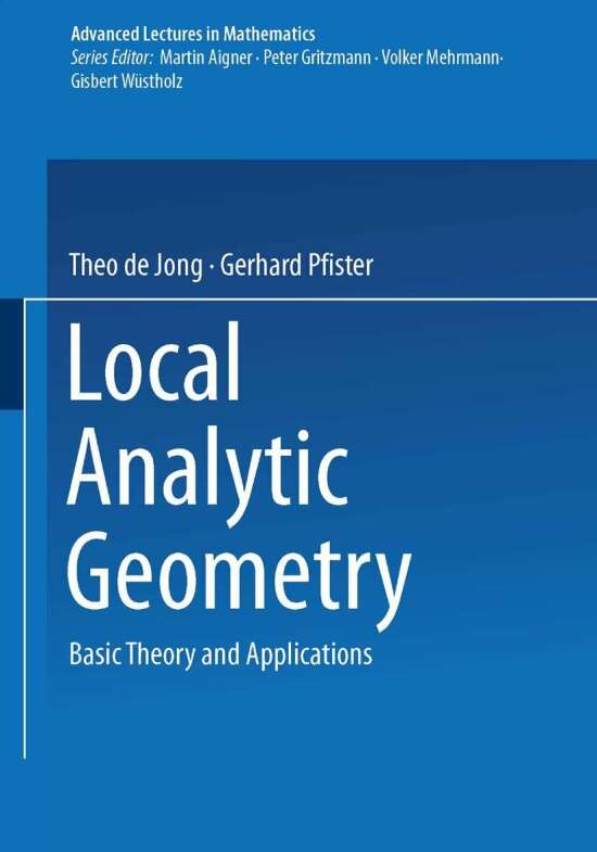 Local Analytic Geometry