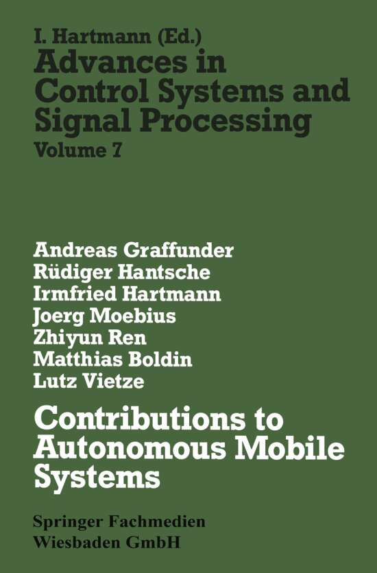 Contributions to Autonomous Mobile Systems