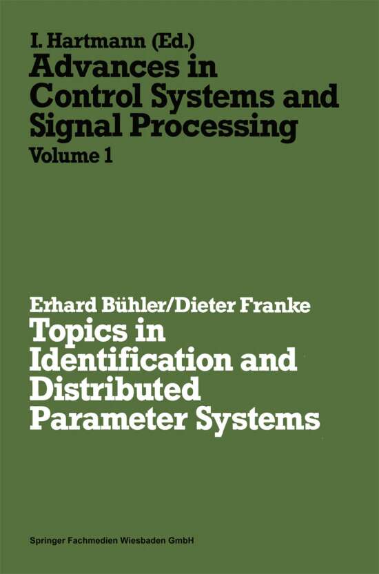 Topics in Identification and Distributed Parameter Systems