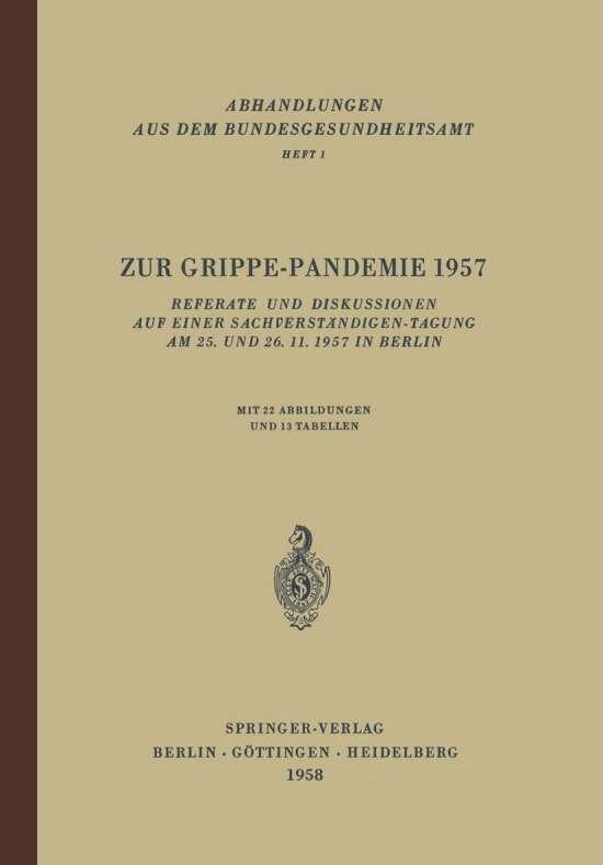 Zur Grippe-Pandemie 1957