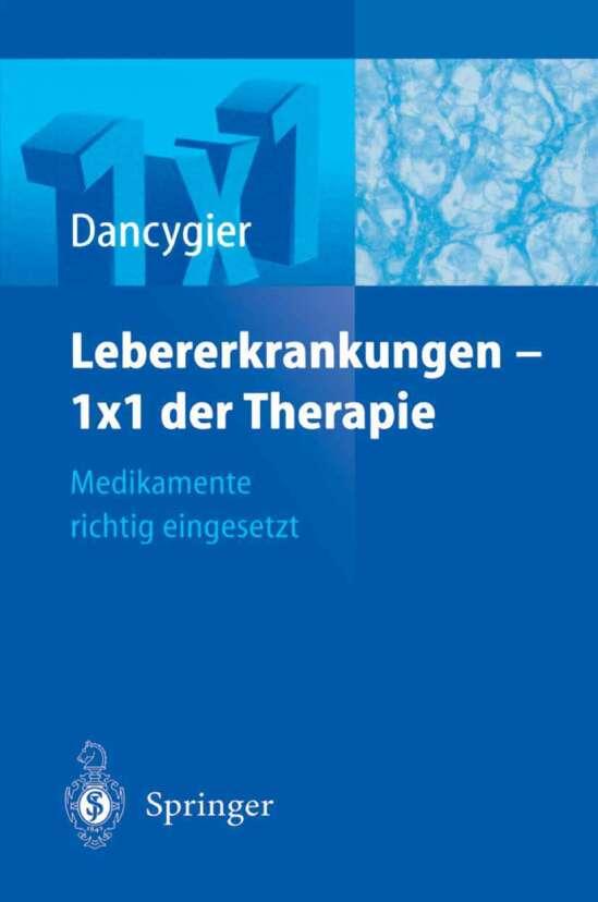 Lebererkrankungen 1×1 der Therapie