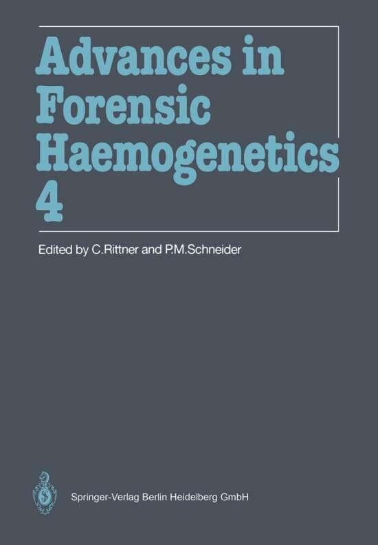 Advances in Forensic Haemogenetics