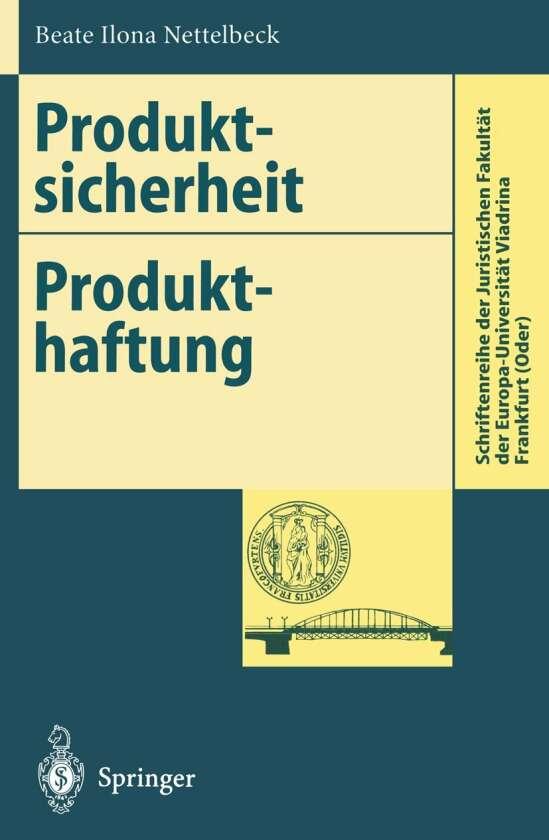 Produktsicherheit Produkthaftung