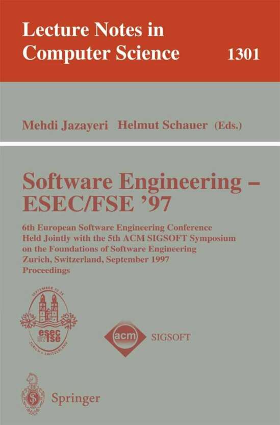 Software Engineering - ESEC-FSE '97