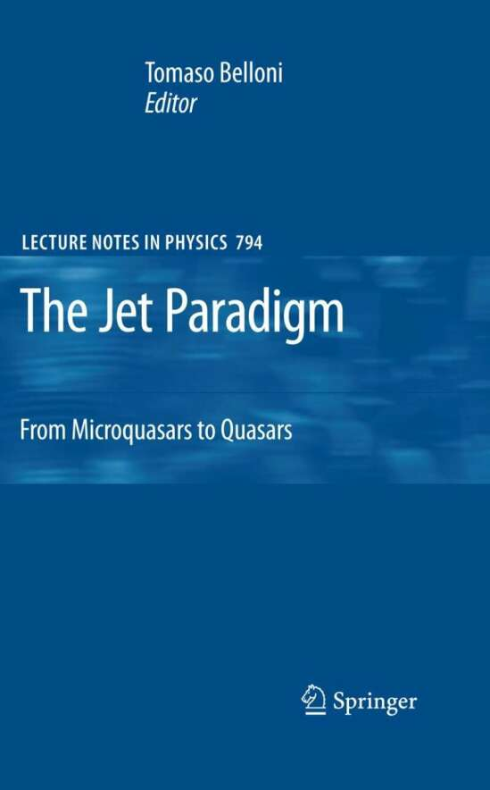 The Jet Paradigm