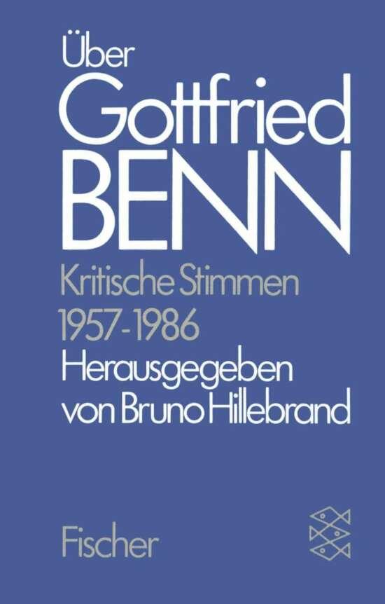 Über Gottfried Benn
