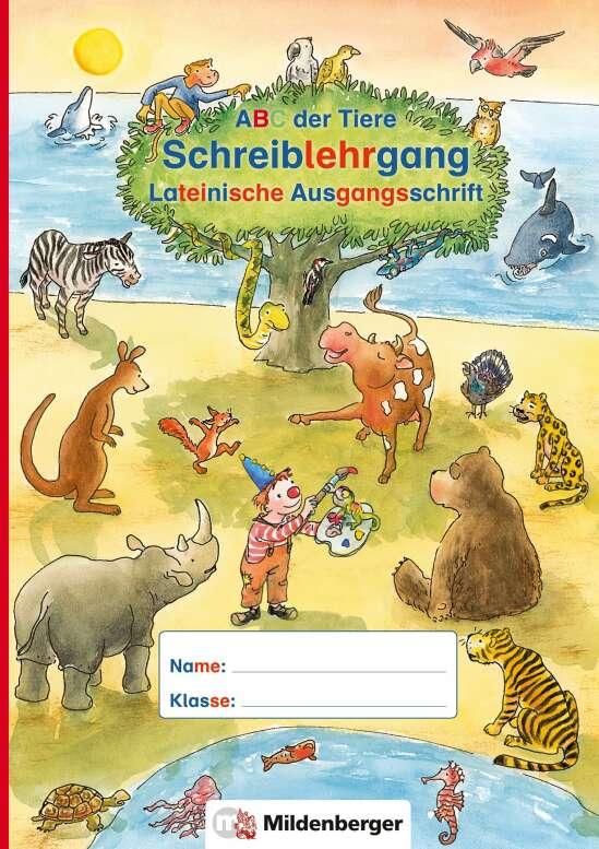 ABC der Tiere – Schreiblehrgang LA in Sammelmappe · Neubearbeitung