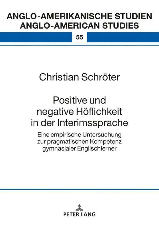 Positive und negative Höflichkeit in der Interimssprache