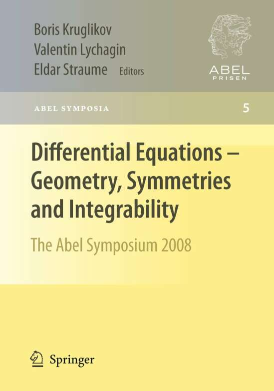 Differential Equations - Geometry, Symmetries and Integrability