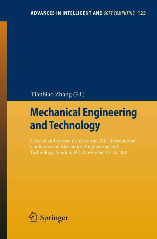 Mechanical Engineering and Technology
