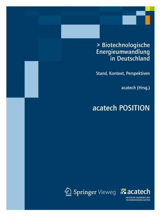 Biotechnologische Energieumwandlung in Deutschland