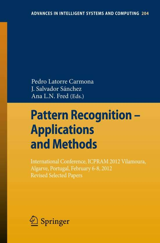 Pattern Recognition - Applications and Methods