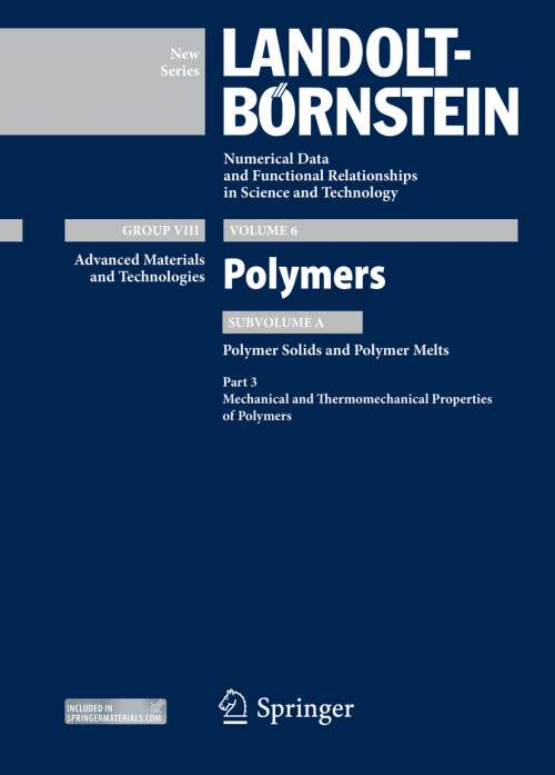 Part 3: Mechanical and Thermomechanical Properties of Polymers