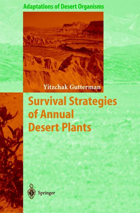 Survival Strategies of Annual Desert Plants