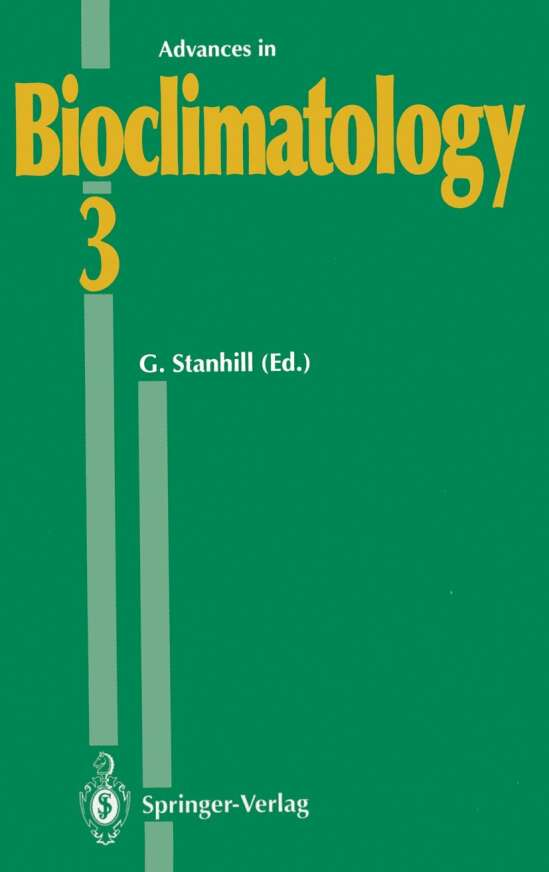 Advances in Bioclimatology