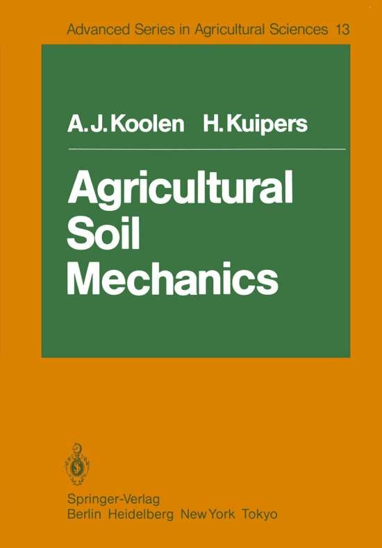 Agricultural Soil Mechanics