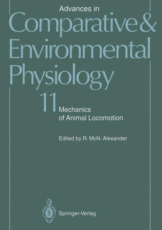 Mechanics of Animal Locomotion