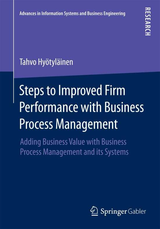 Steps to Improved Firm Performance with Business Process Management