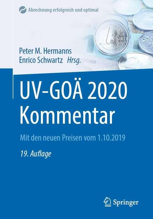 UV-GOÄ 2020 Kommentar