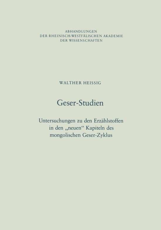 Geser-Studien