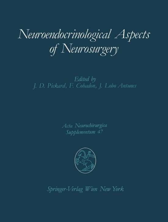 Neuroendocrinological Aspects of Neurosurgery