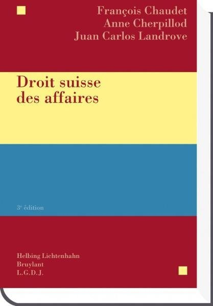 Droit suisse des affaires