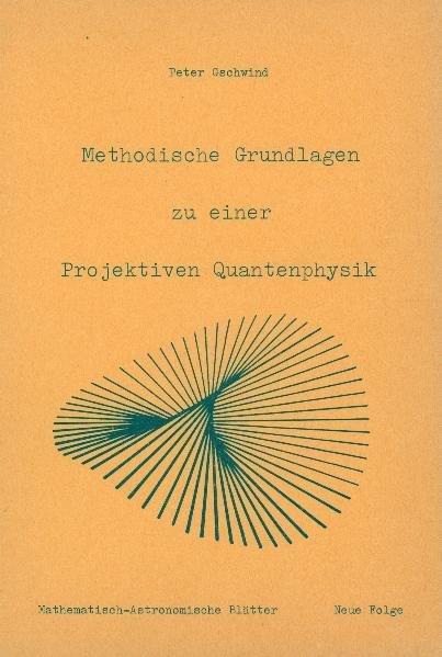 Methodische Grundlagen zu einer projektiven Quantenphysik