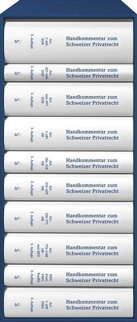 Handkommentar zum Schweizer Privatrecht