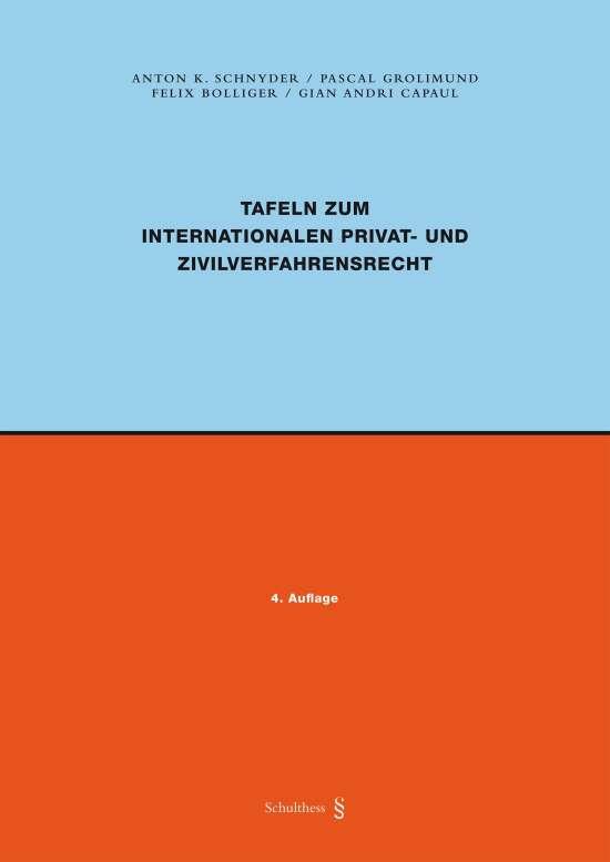 Tafeln zum Internationalen Privat- und Zivilverfahrensrecht (PrintPlus)