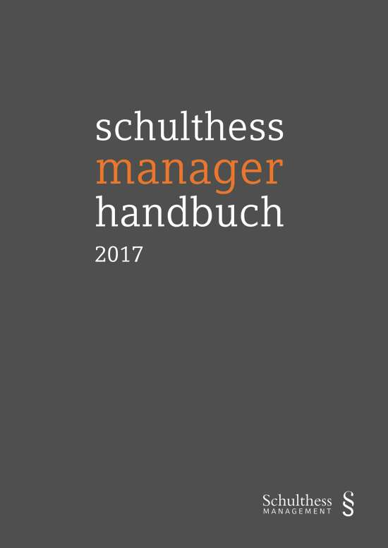 schulthess manager handbuch 2017