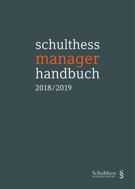 schulthess manager handbuch 2018/2019 (PrintPlu§)