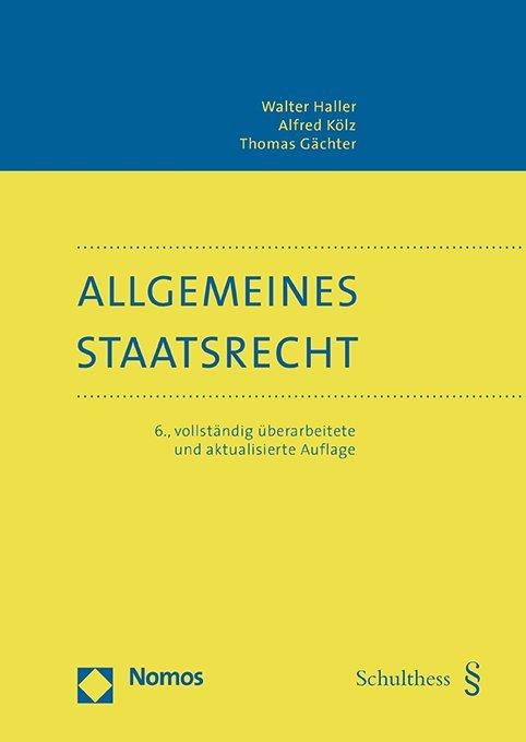 Allgemeines Staatsrecht (PrintPlu§)