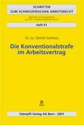 Die Konventionalstrafe im Arbeitsvertrag