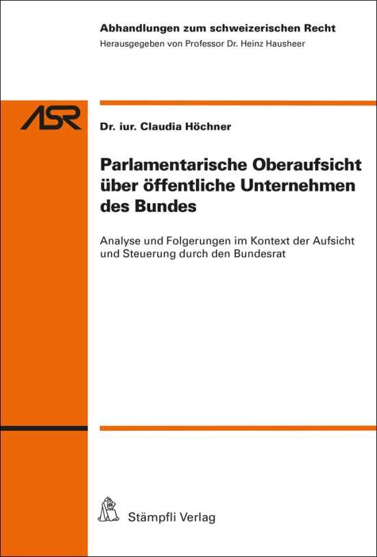 Parlamentarische Oberaufsicht über öffentliche Unternehmen des Bundes
