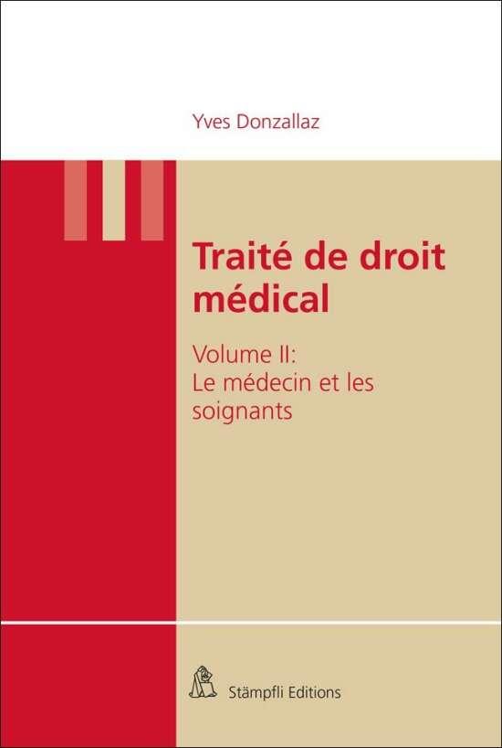 Traité de droit médical