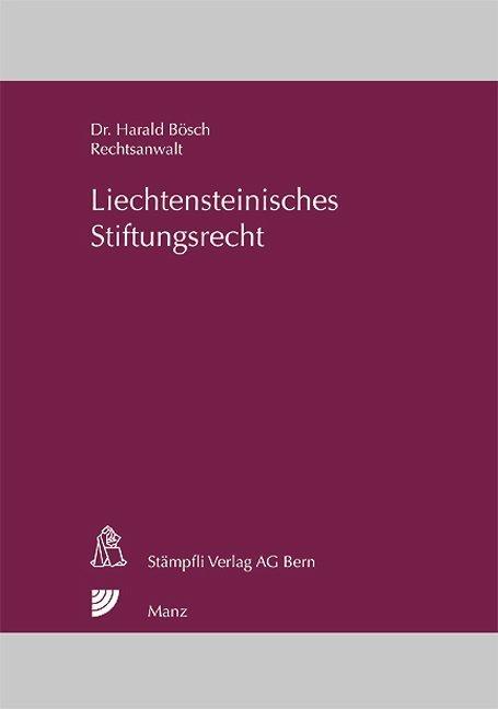 Liechtensteinisches Stiftungsrecht