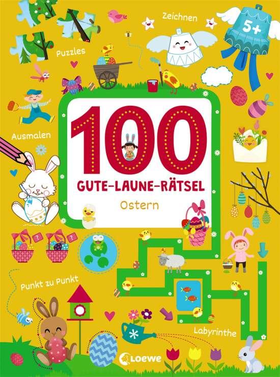 100 Gute-Laune-Rätsel - Ostern