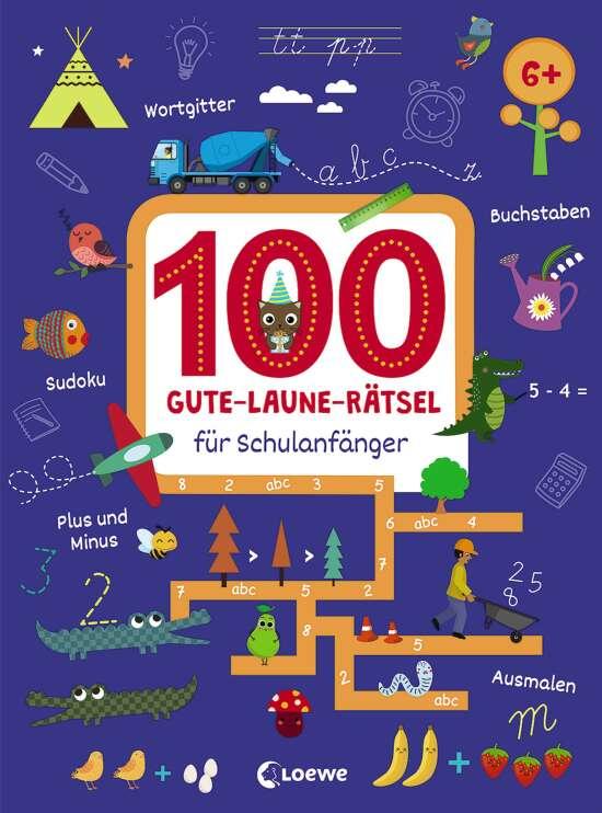 100 Gute-Laune-Rätsel für Schulanfänger
