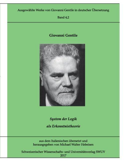Ausgewählte Werke von Giovanni Gentile, Band 4.2
