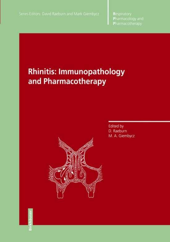 Rhinitis: Immunopathology and Pharmacotherapy
