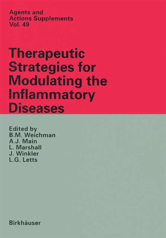 Therapeutic Strategies for Modulating the Inflammatory Diseases