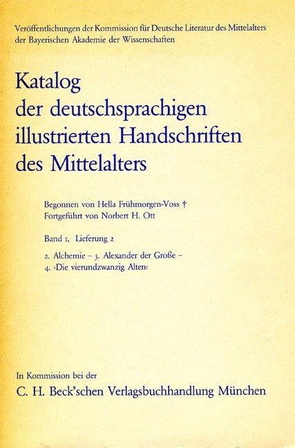 Alchemie. Alexander der Große. 'Die vierundzwanzig Alten'