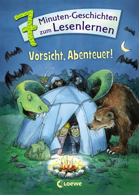 Leselöwen - Das Original - 7-Minuten-Geschichten zum Lesenlernen - Vorsicht, Abenteuer!