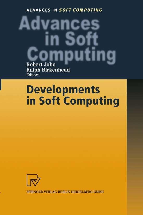 Developments in Soft Computing