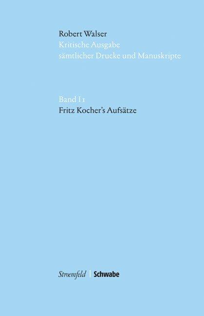 Fritz Kocher's Aufsätze