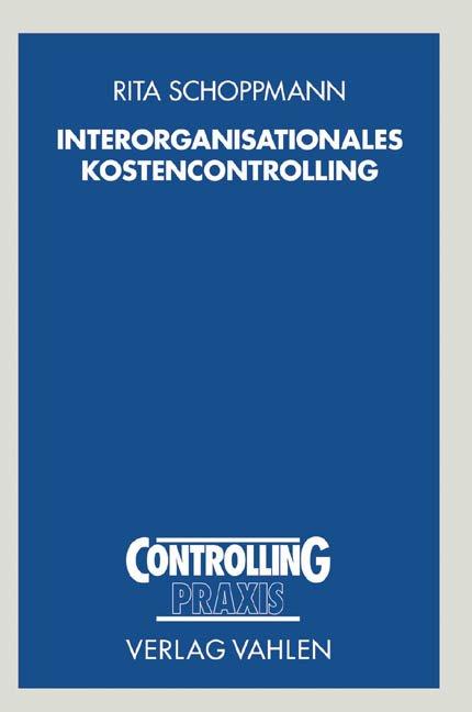 Interorganisationales Kostencontrolling