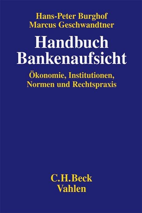 Handbuch Bankenaufsicht