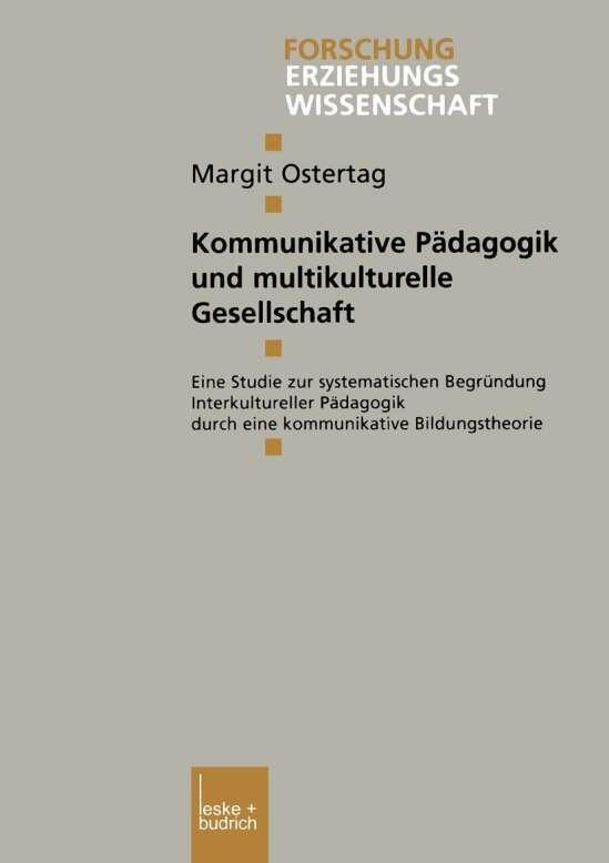 Kommunikative Pädagogik und multikulturelle Gesellschaft